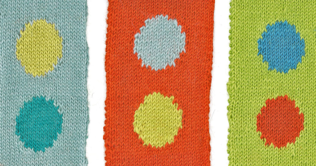 Knitting in Color: Intarsia Basics