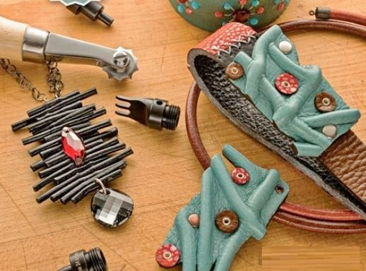 leather jewelry making