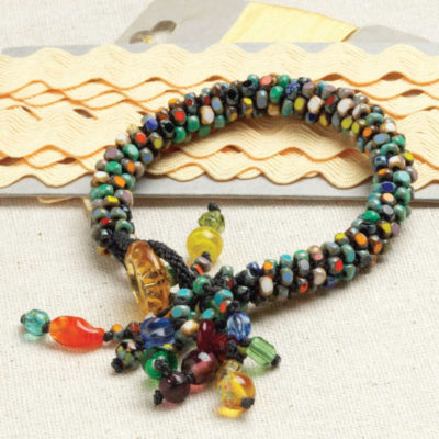 Free Projects to Learn How To Kumihimo with Beads