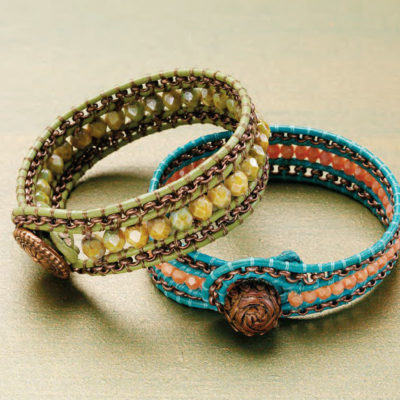 4 Free Leather Bracelet Patterns