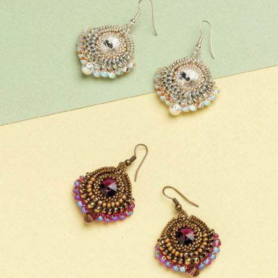 5 Free Earring Patterns Using Seed Beads