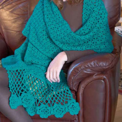 5 Free Crochet Shawl Patterns: Inspiring Designs for a Lace Shawl, Irish Crochet Shawl, Prayer Shawl & More