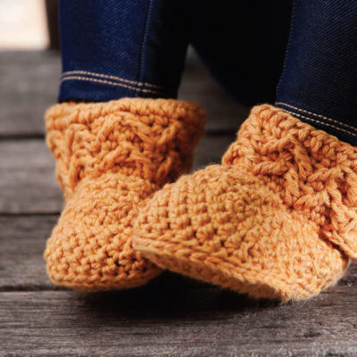 How to Crochet Slippers & Socks: Free Patterns for Crochet Slippers and Socks