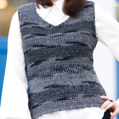 5 Free Crochet Vest Patterns