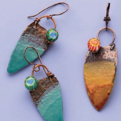 Enameling jewelry the simple way in this free guide.