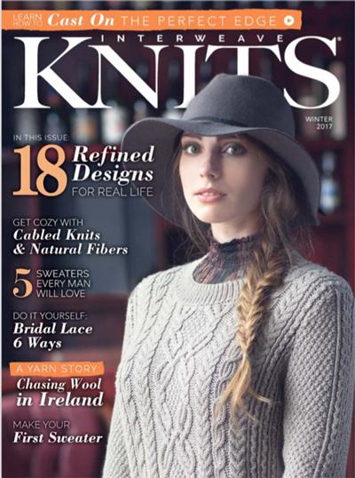 Interweave Knits Winter 2017