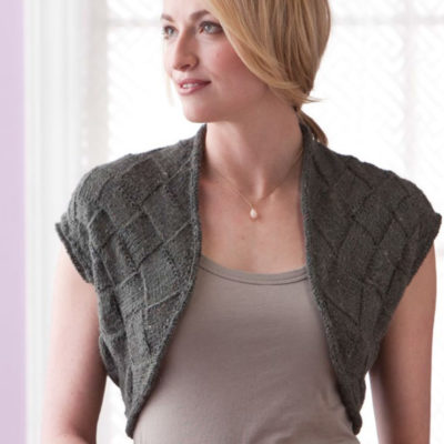 Learn how to knit entrelac patterns.