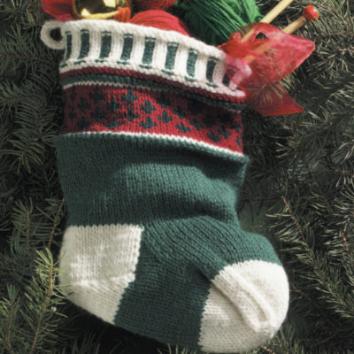 Free holiday knitting patterns.