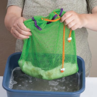How to process wool to make wool roving.