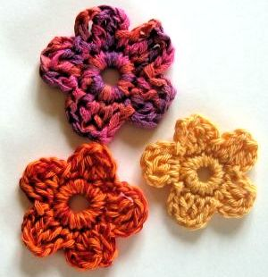 Small Flowers motif