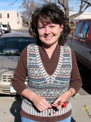 Debbie Ivy League Vest