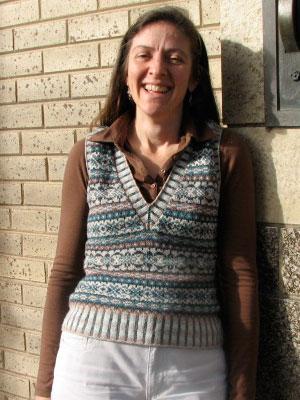 Karen Ivy League Vest