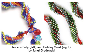 Learn how to make colorful, beaded spiral rope in this free guide.