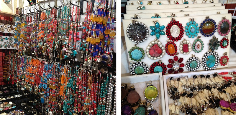 turquoise and red color trends for jewelry making