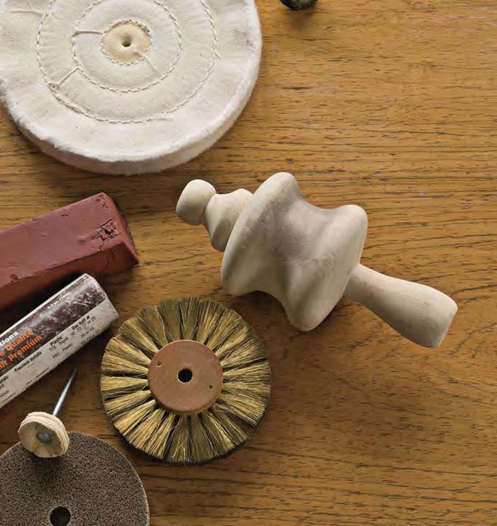 Learn everything about hand and motorized finishing tools in this FREE guide on over 125 jewelry-making tools.
