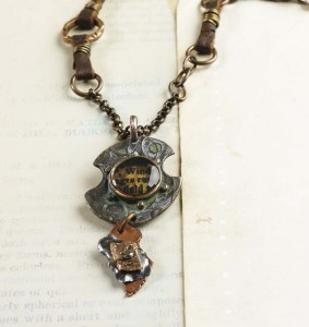 Learn how to make resin jewelry such as this resin necklace in our free ebook.