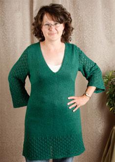 Knitting Gallery - Kaftan Dress Debbie