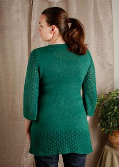 Knitting Gallery - Kaftan Dress Erin