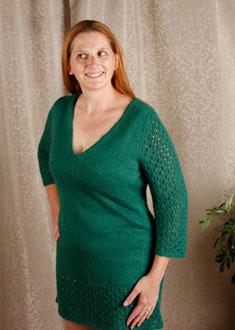 Knitting Gallery - Kaftan Dress Kat