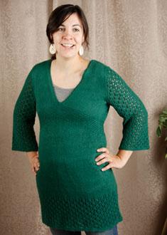 Knitting Gallery - Kaftan Dress Amy