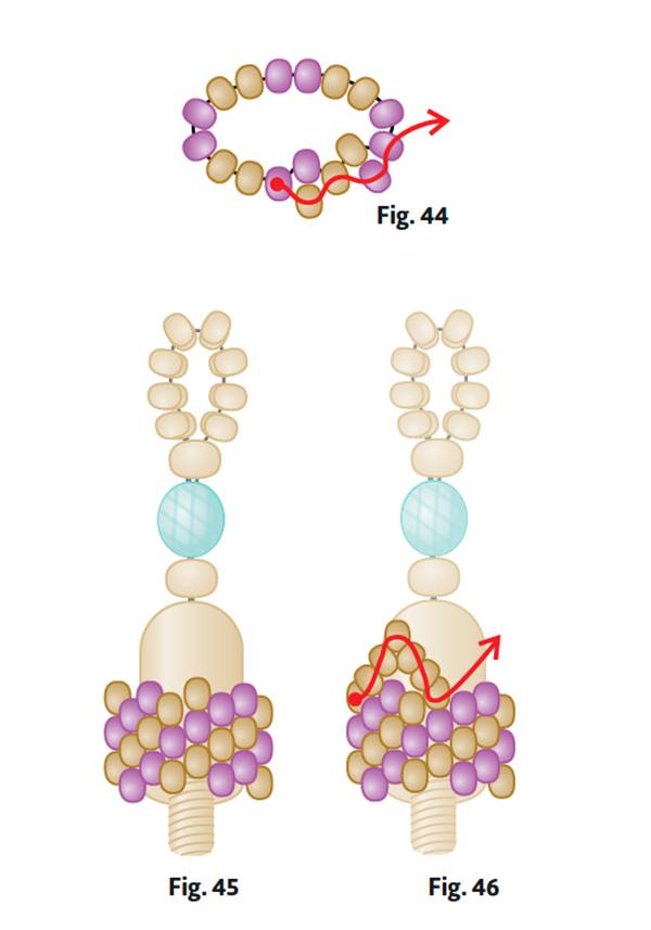 Bead metamorphosis, Lisa Kan, hidden clasp inside beadwork