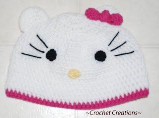 Adult Hello Kitty Hat Interweave