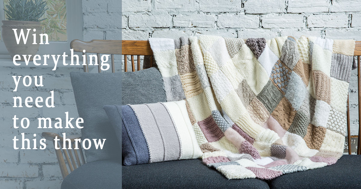 You Could Win 80 Weeks of Knitting Goodies!