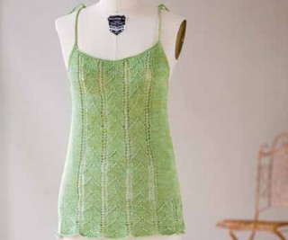 Free knitting pattern including this Knit Tops for Women: Lace Nightie by Carrie Bostick Hoge.