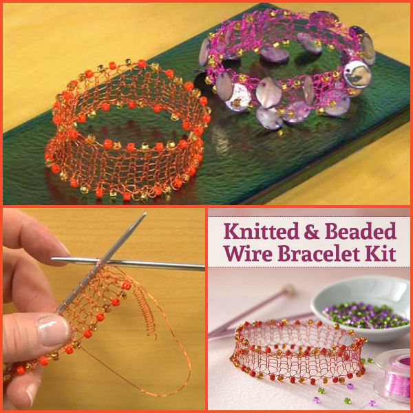 Knitting with wire gift ideas!