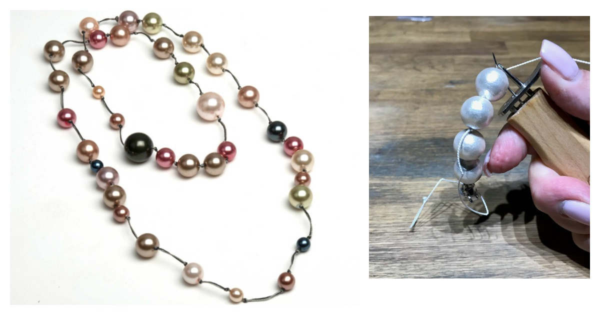 knotting pearls jewelry