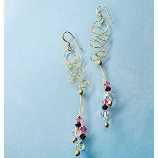 Sparkling Jewelry Making Ideas project collection filled with crystal jewelry making designs