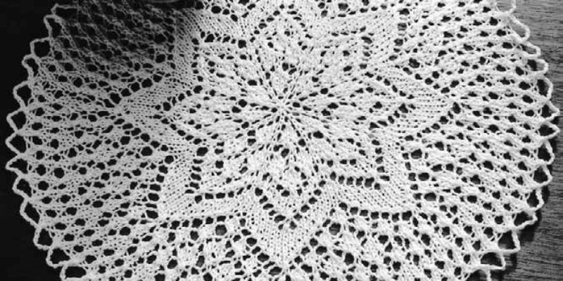 "Lace Knitting Patterns: What Does ""No Stitch"" Mean?"
