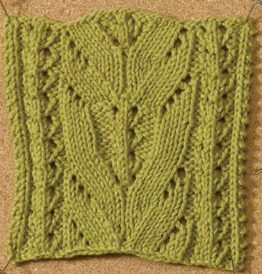 Learn about this awesome lace knitting stitch by Amy Christoffers called the Ladylike Lace stitch in this free eBook on nine amazing knitting stitches.