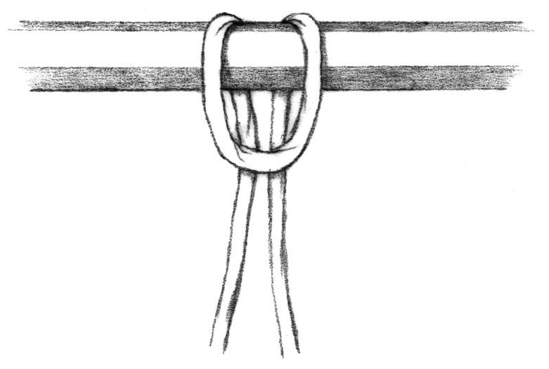 lark's head knotA