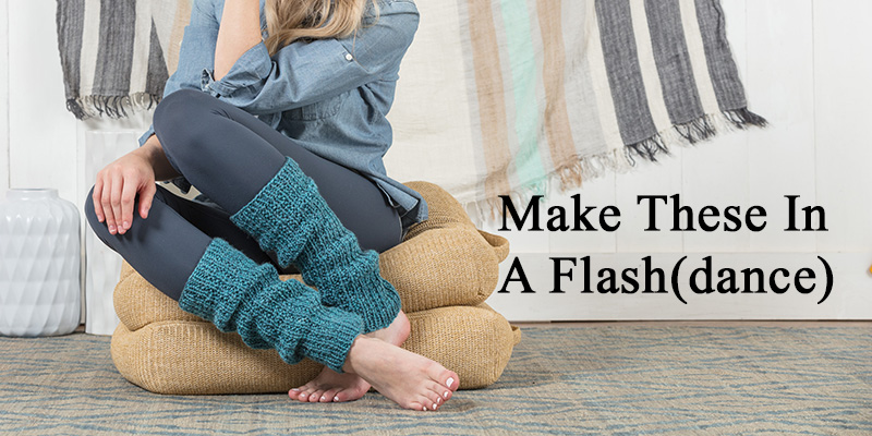 Pattern of the Week: Make These Leg Warmers in a Flash (dance)