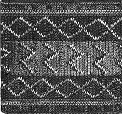 weldons-knit-stocking-lightning-pattern