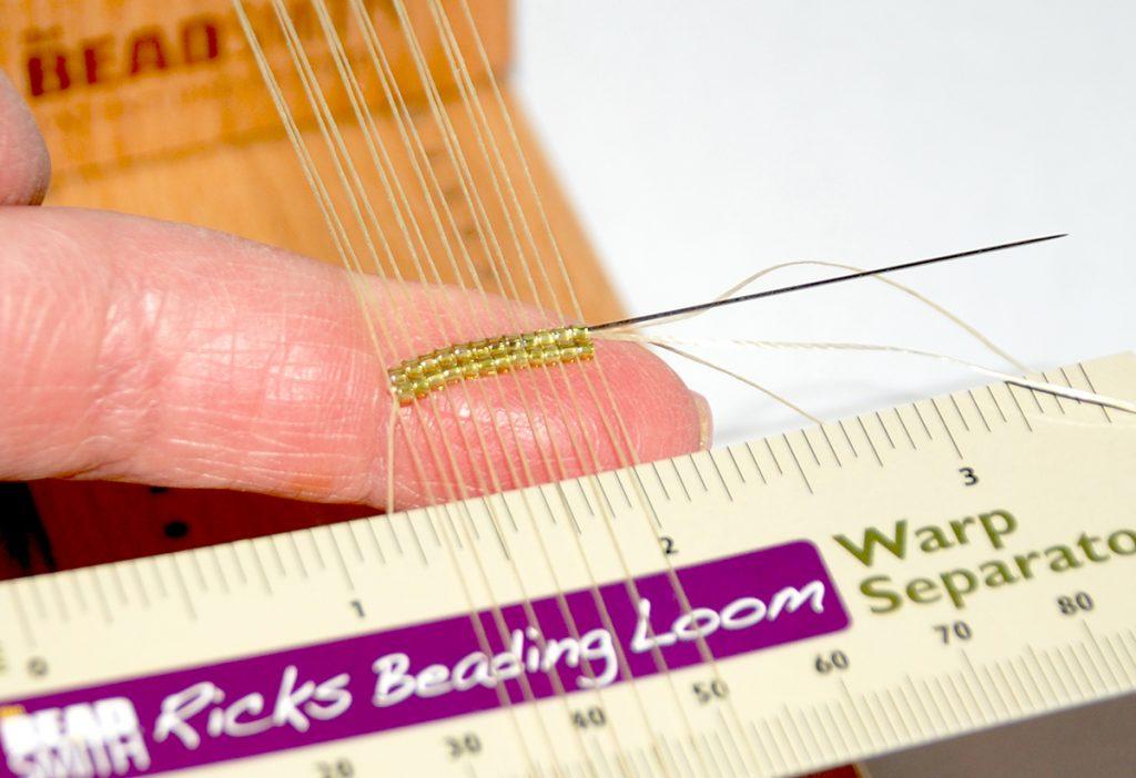 Beading Loom, free bead weaving project by Tammy Honaman