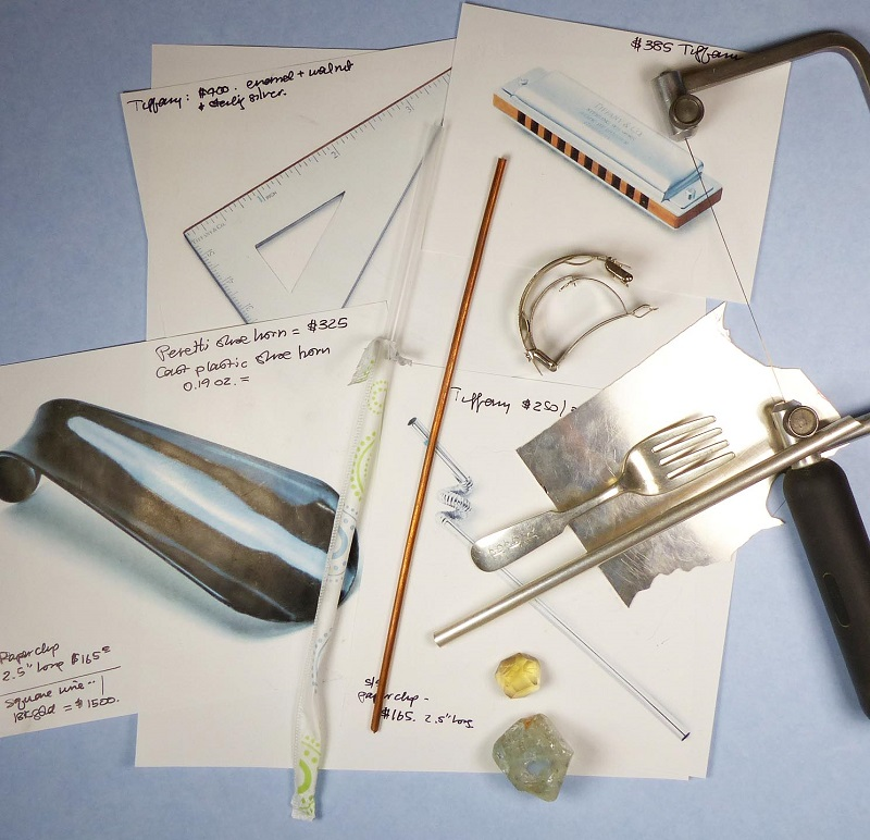 make luxury useful with jewelry design and metalsmithing skills