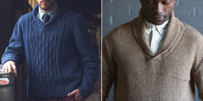 What does the man in your life REALLY want in a knit sweater?