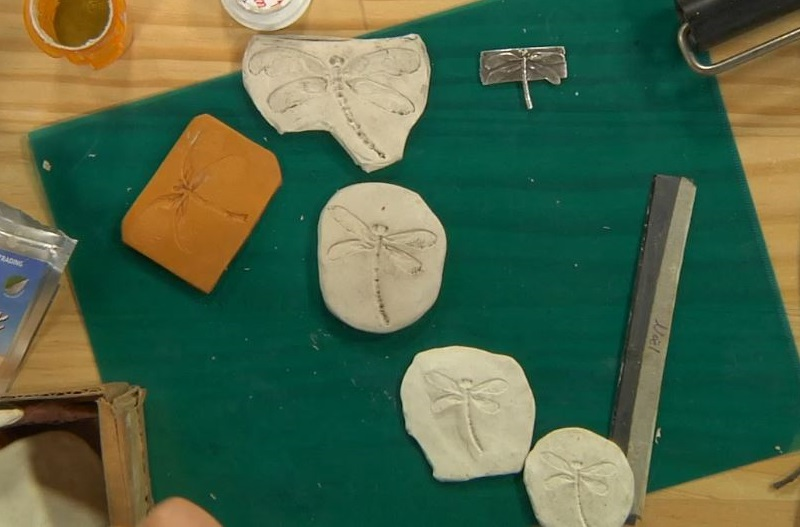 Make Custom Molds and Stamps for Metal Clay Jewelry, Polymer