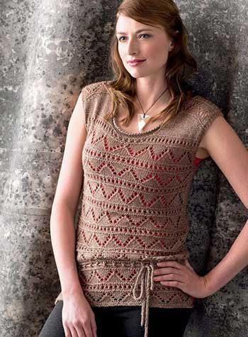 The Minnow Top from Graphic Knits