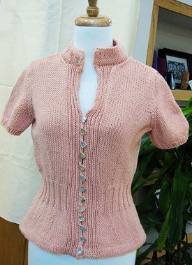 Knitting Gallery - Mirabella Cardigan Bertha
