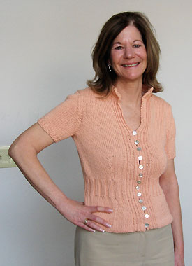 Knitting Gallery - Mirabella Cardigan Kerry