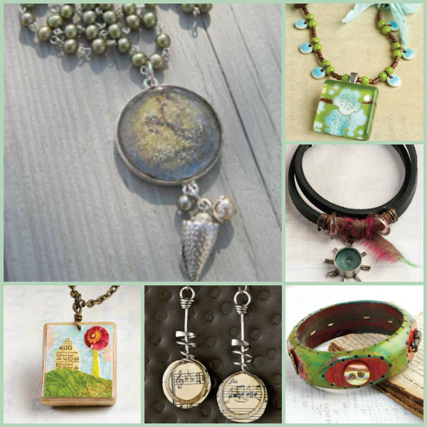 Try out these nontraditional jewelry tools to create one-of-a-kind mixed media jewelry designs!