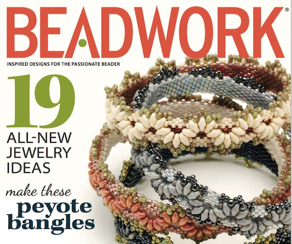 Passementerie Bangle, Alice Coelho, Beadwork, Apr/May 2014