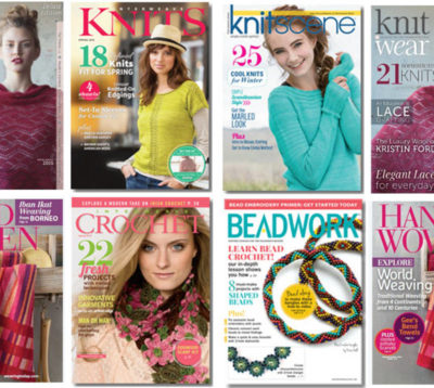 Advertise with Interweave and reach more bead, jewelry, yarn and fiber enthusiasts with our publications, events and digital properties!