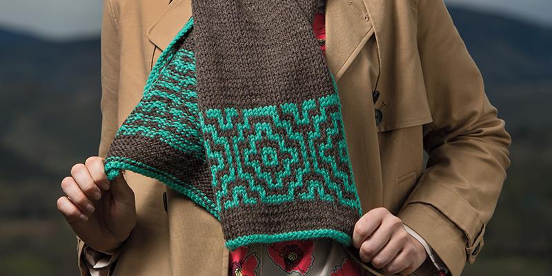 A Well-Kept Secret: Mosaic Knitting | Interweave
