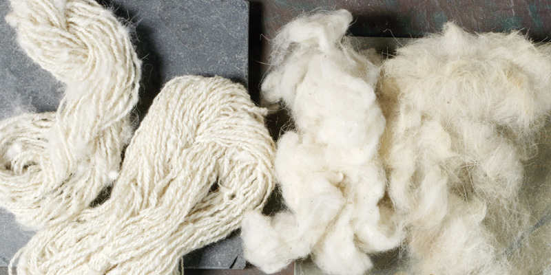 Natural Fibers to Spin: Mountain Goat