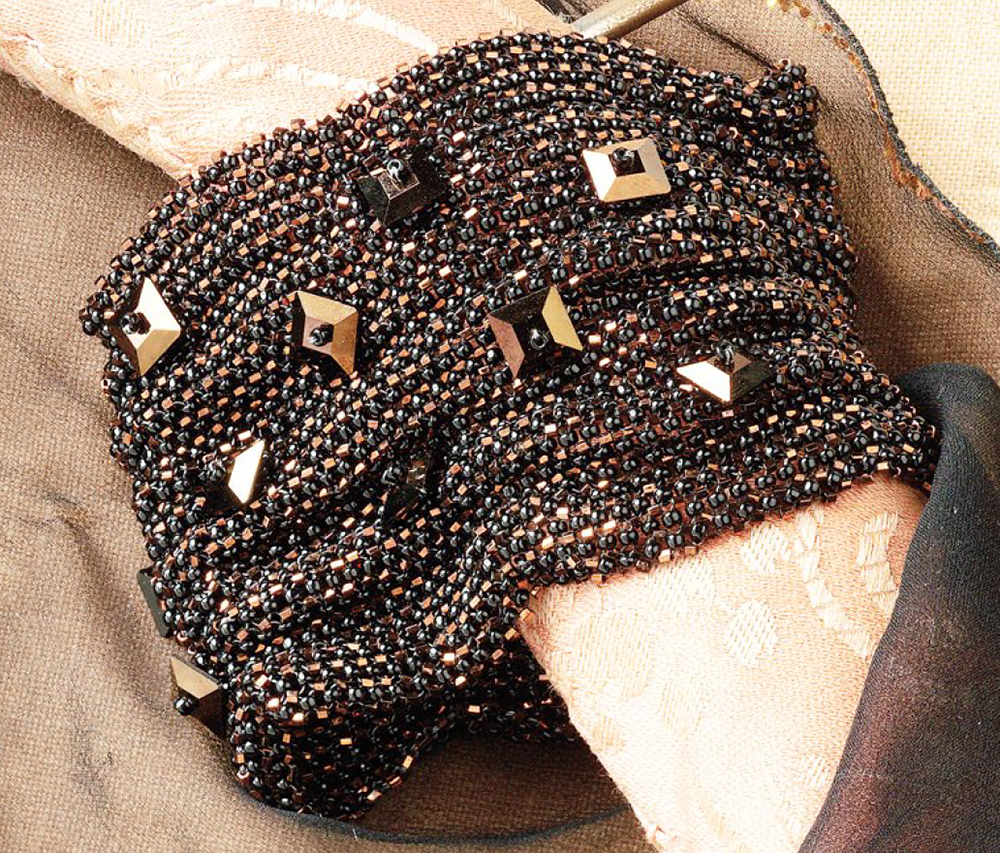 New York State of Mind, 10 Projects by Designer of the Year Marcia DeCoster, right-angle weave, beadweaving, how to make jewelry with beads
