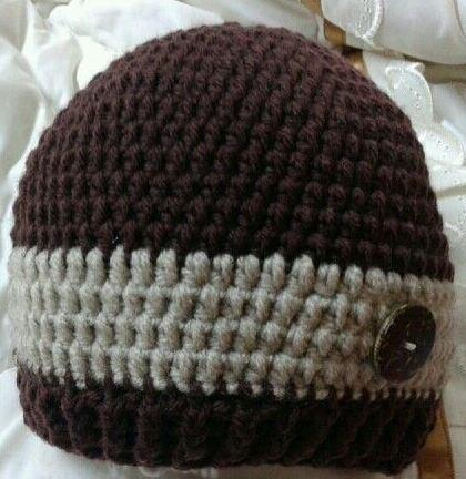 Stripe Crochet Hat Pattern